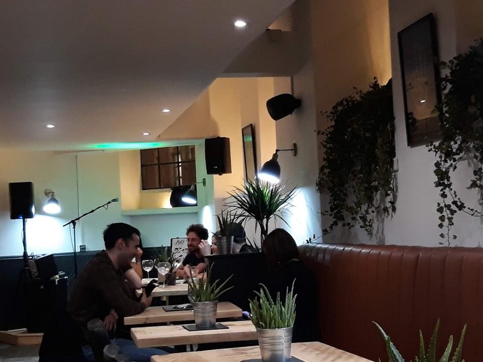 PA Sound Speaker System Installed Burger Bar Nottingham