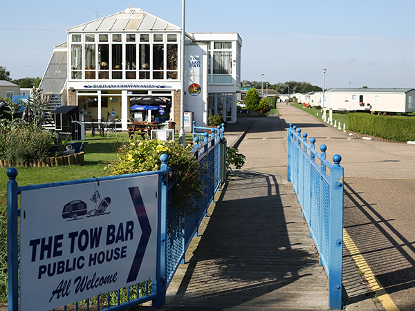 Caravan Club Bar and Pub Sound Installation Mablethorpe Lincolnshire