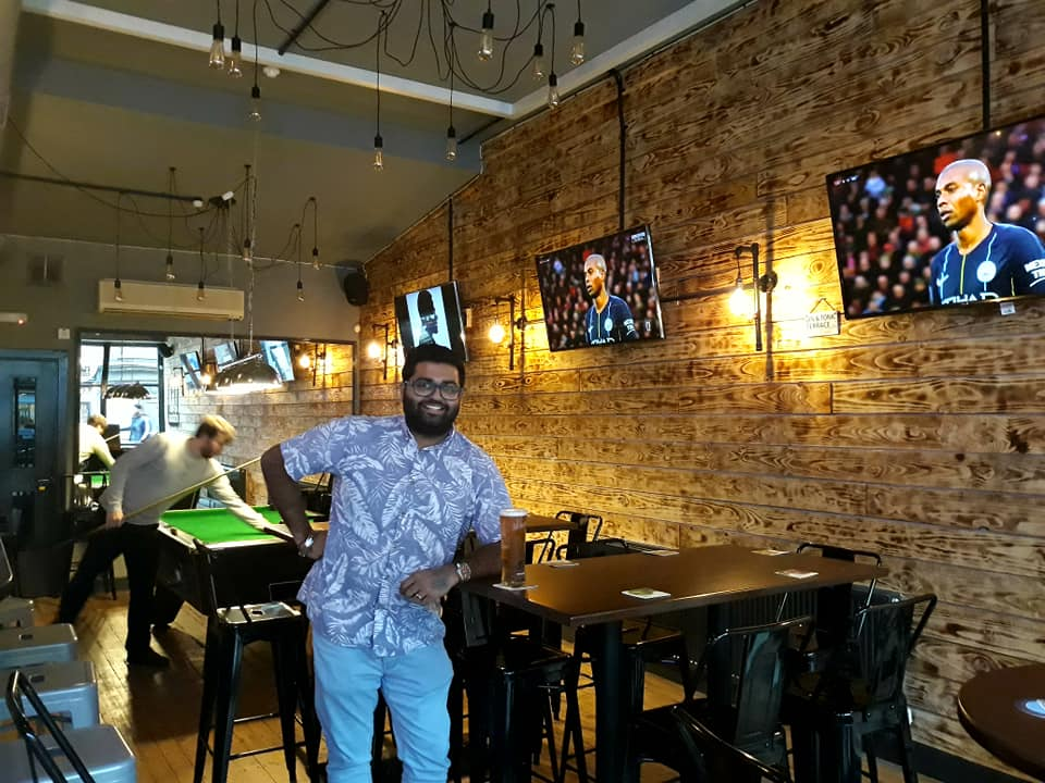 Bar owner after av installation