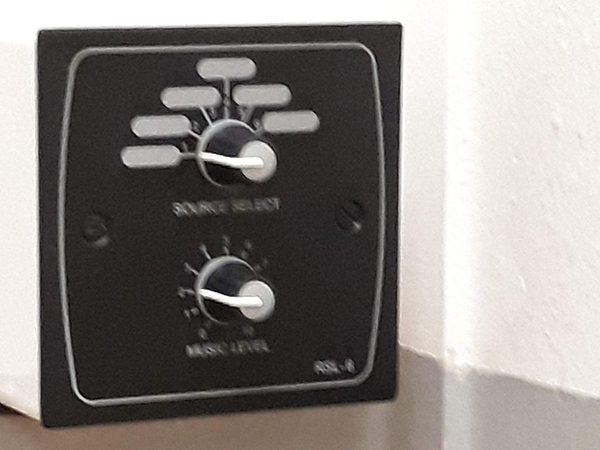 Installed Pa Speaker Control Switch for a Gym in Nottingham