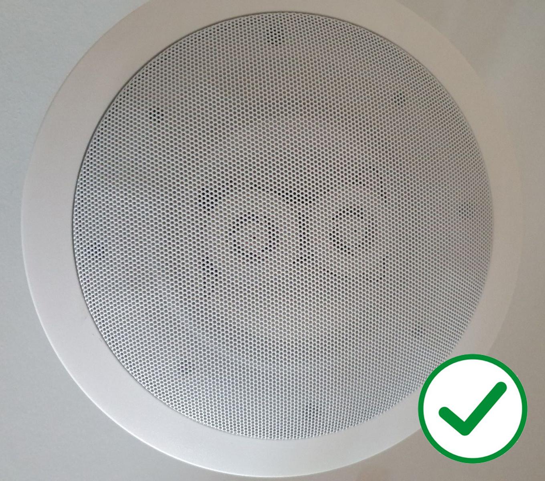 New Install Ceiling Speaker Upgrade