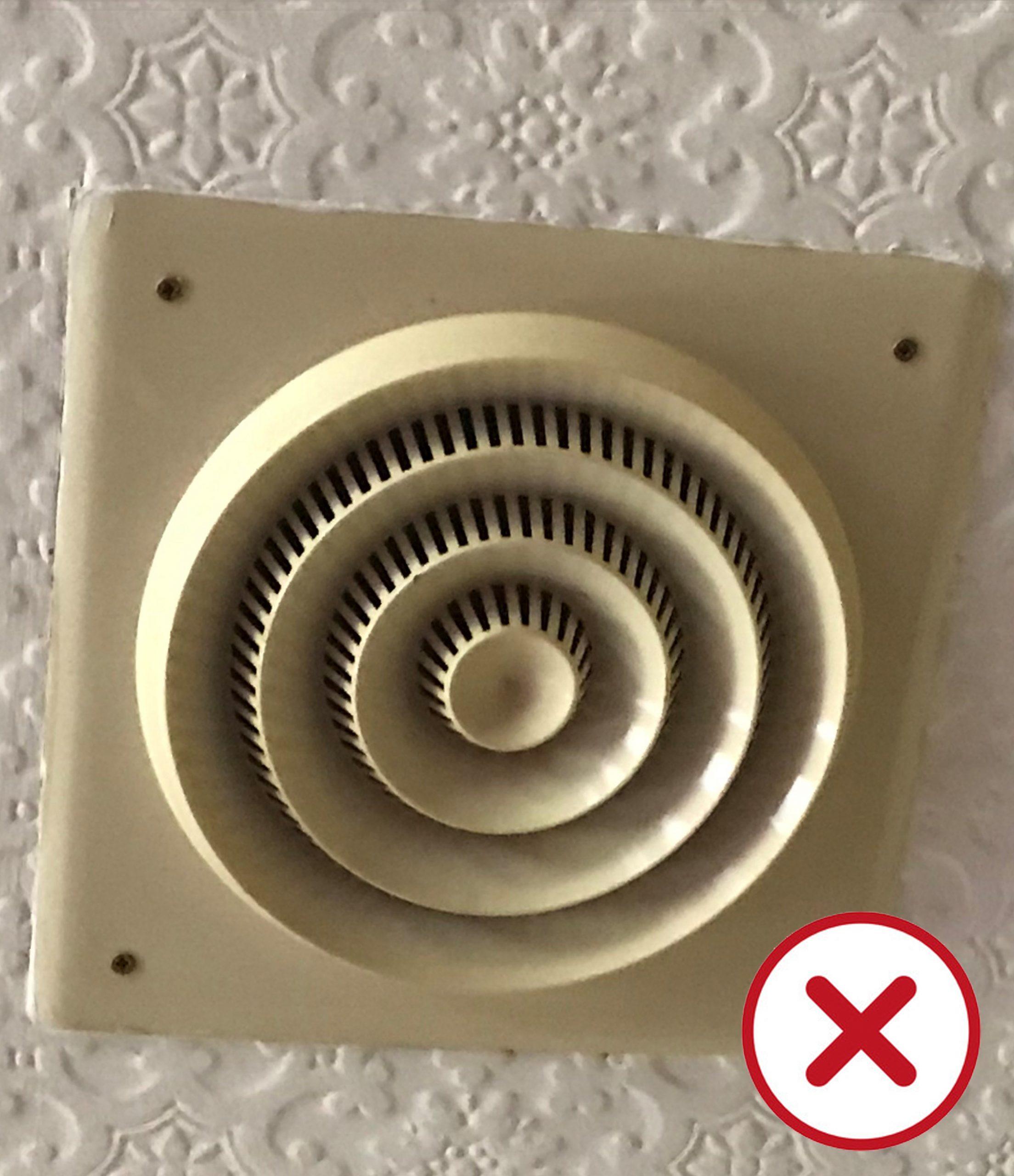 Old install ceiling speaker