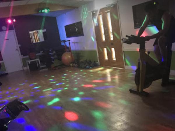 Spin Fitness Class Lighting Install for Rolls Royce Leisure Centre Hucknall Nottingham