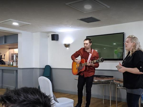 Music Sound System Installed in Rolls Royce Social Club Hucknall Nottingham