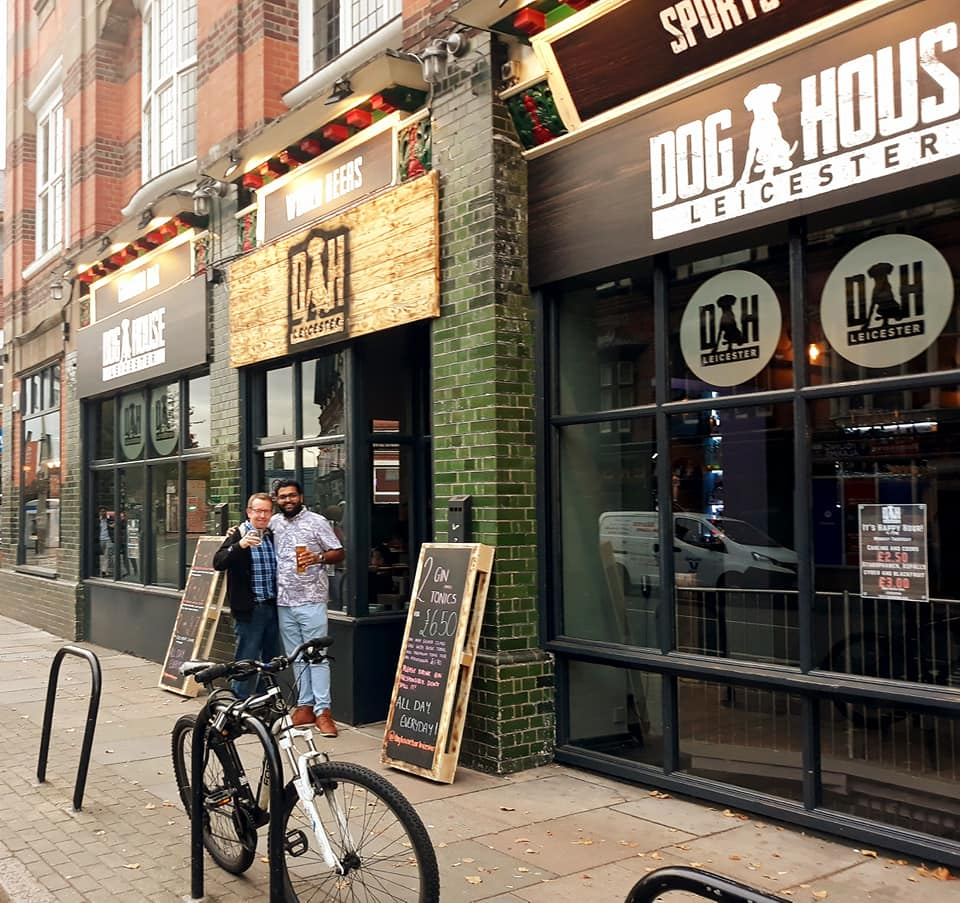Bar Owner after AV installation Leicester