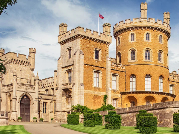 Audio Visual Installation at Tourist Attraction for Belvoir Castle Leicester