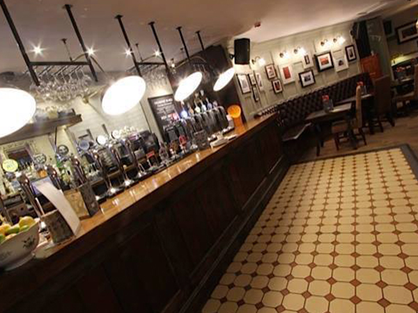 AV Sound System install in a Bar Pub