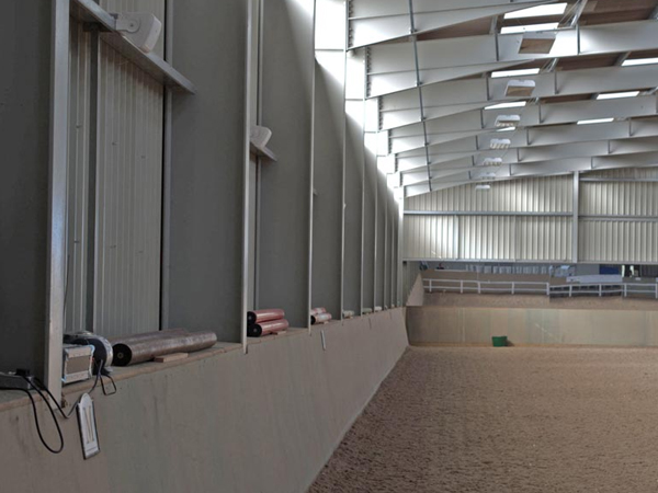 sound system controll for installation in equestrian Derby
