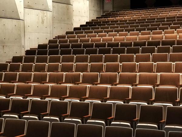 AV Installation for Lighting and Speaker Systems where Audience Seat