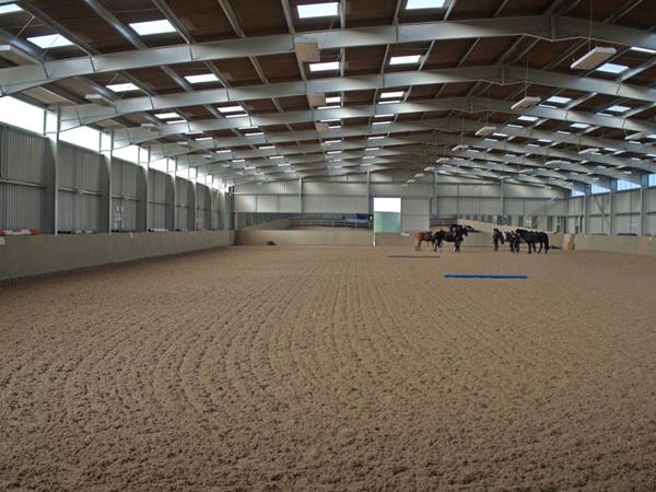 equestrian centre full pa speaker system install