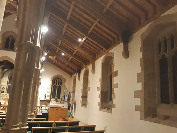 Church AV Installations with sound systems