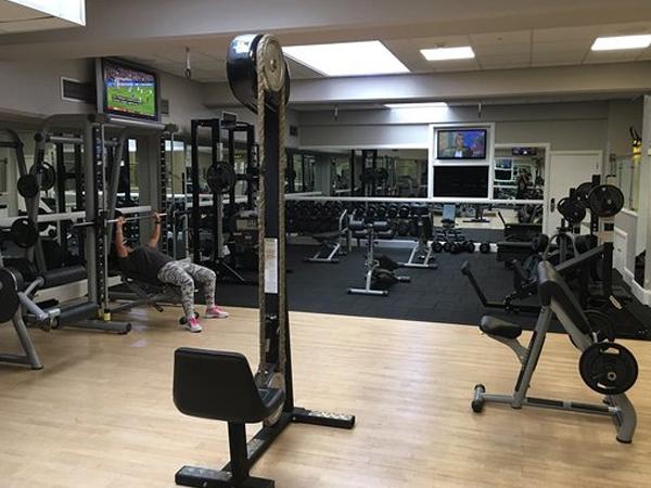 Hotel Gym Speaker System AV Install