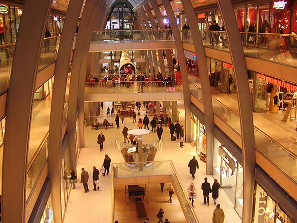 Shopping Centre Lighting plan and sound system av installation