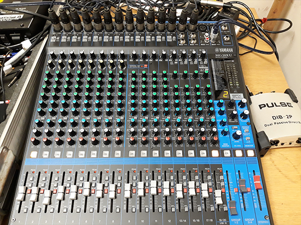 Yamaha Mixing Desk for AV installation Shree Pajapati Association Community Centre, Leicester