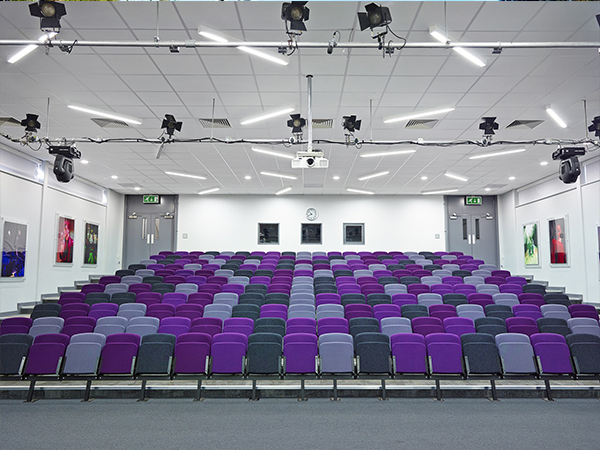 School in Leicester has full Audio visual lighting and loudspeaker install into the main theatre classroom