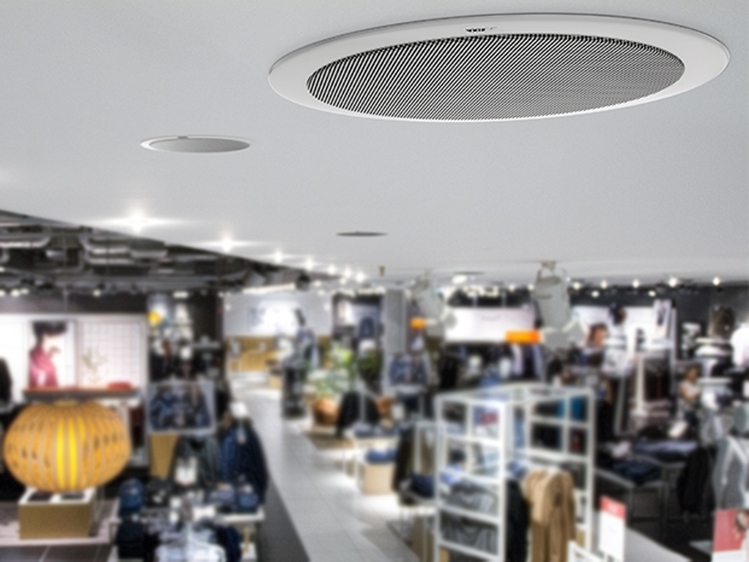 Ceiling Mounted Speakers for Retail