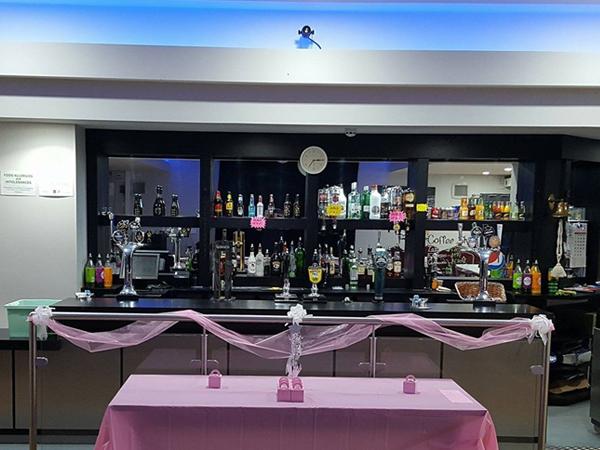 Social Club Bar Lighting and Loudspeaker install