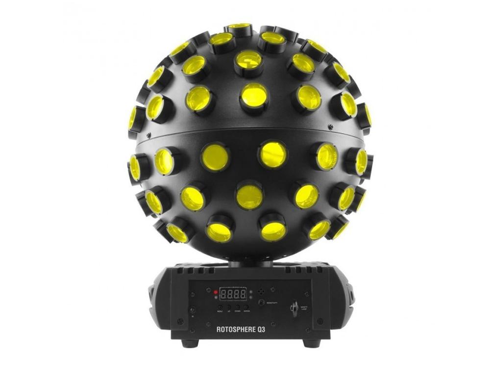 Chauvet DJ Rotosphere Q3 Quad Colour Sphere LED Mirror Ball Lighting Effect DMX