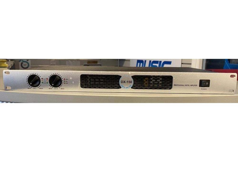 DX150 Professional Digital Power Amplifier 2 x 75W RMS 1U