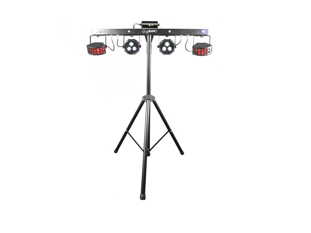Chauvet DJ GigBAR 2 IRC LED Derby + Par + Laser + Strobe UV Effect Light Gig Bar