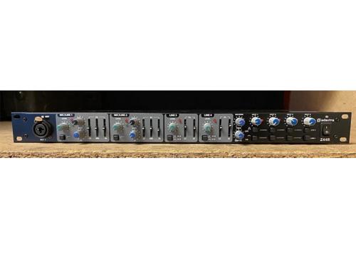 Used Adastra Z44R 1U 19 Multi Purpose 4 Channel Mixer / Zoner Rack Mount Installation