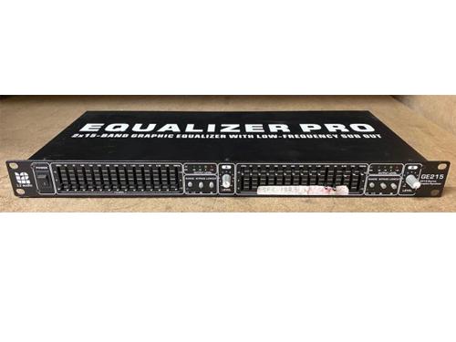 Used L2 Audio GE215 2 x 15 Band 1U Rack Mount Graphic Equaliser