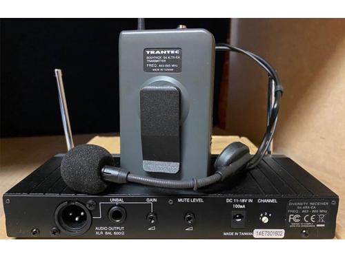 Used Trantec S4.4-L-EA-UK UHF Headset Radio Microphone System